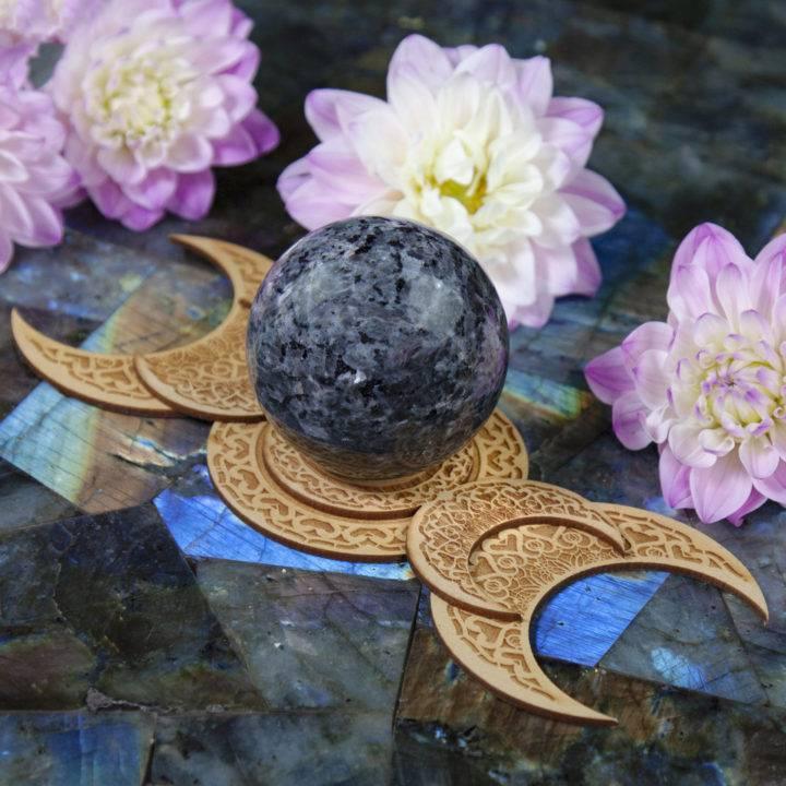 Triple Moon Sphere Stands