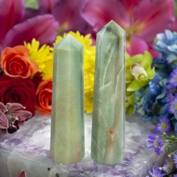 Green Aventurine Growth and Abundance Generator