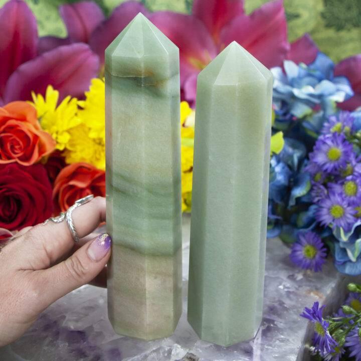 Green Aventurine Growth and Abundance Generator