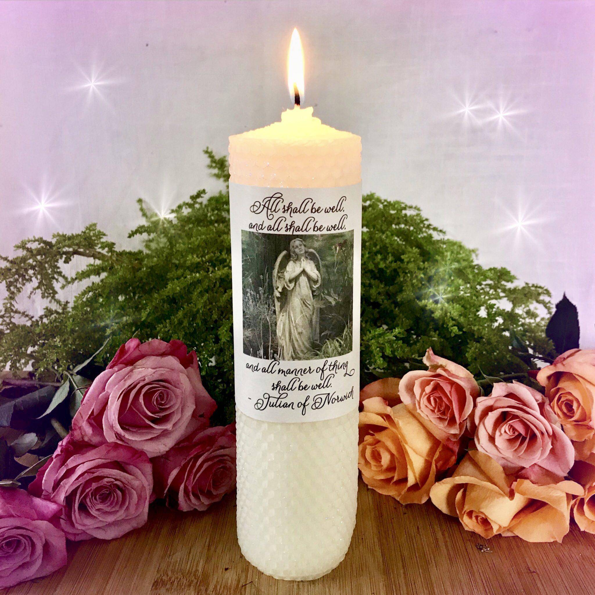 Prayer Intention Candles for divine guidance and support