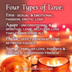 four types of love