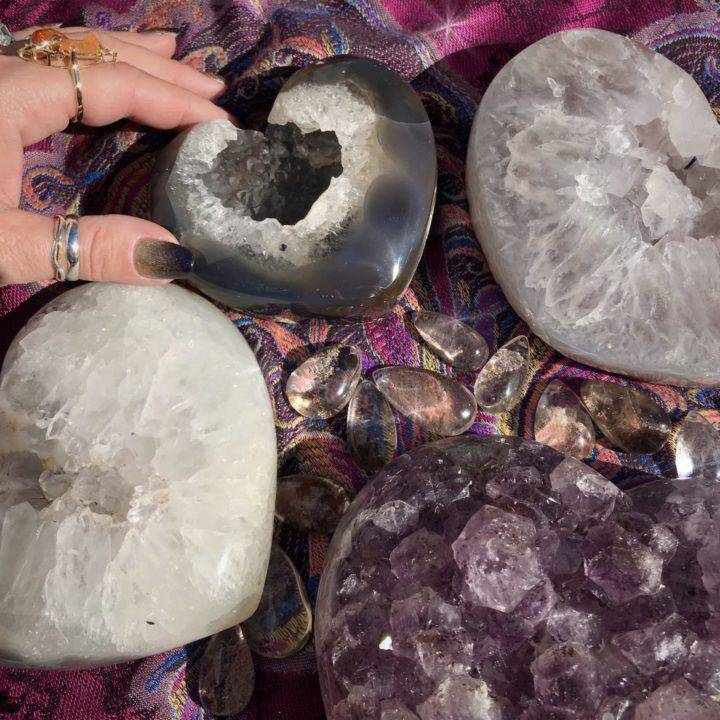 TUCSON_LISTING_Druzy_Hearts_with_Free_Intuitively_selected_Perfume_2of2_2_3