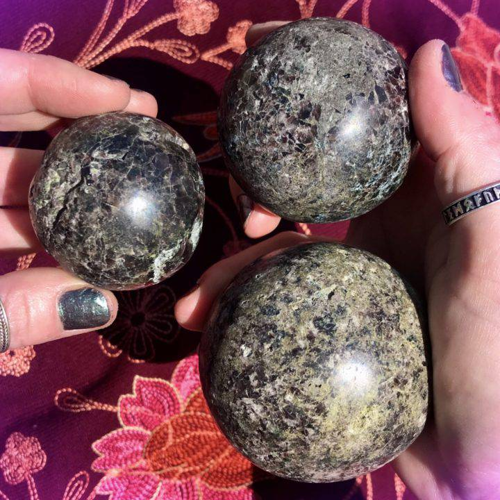 Axinite Ultimate Healing Spheres