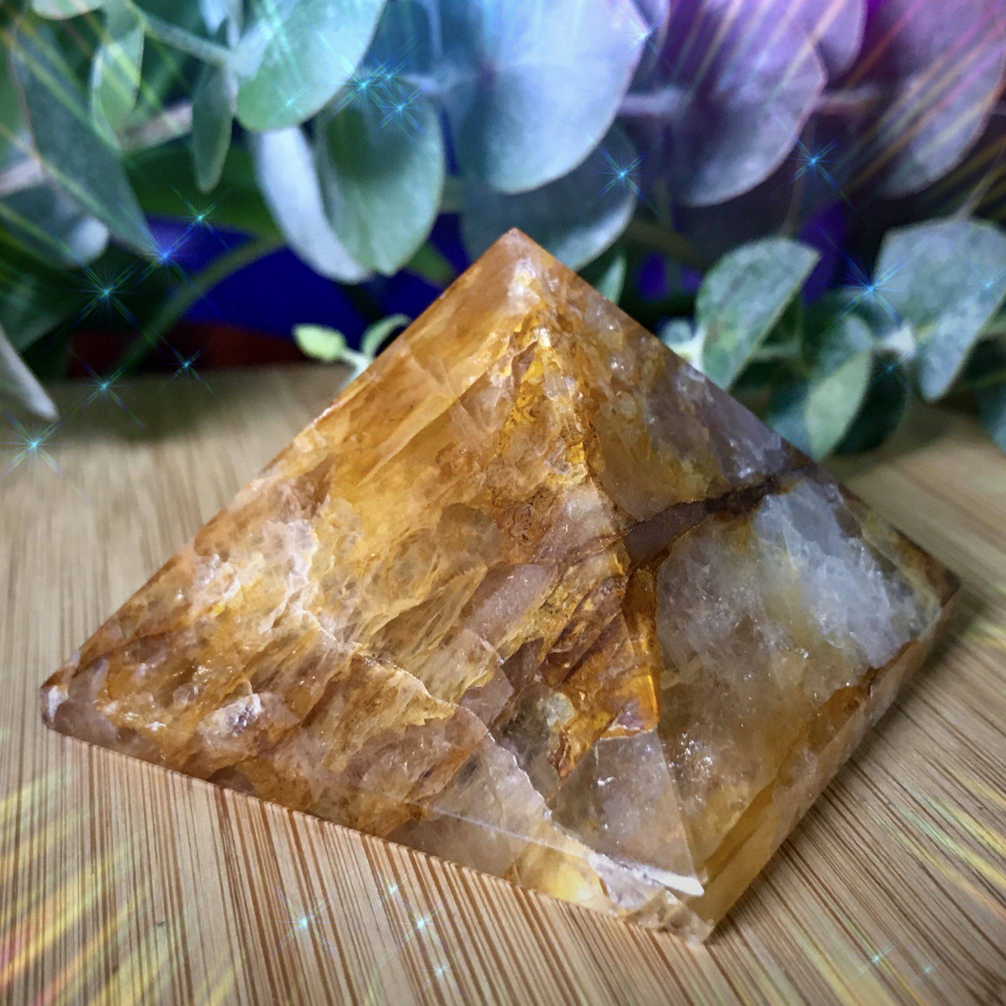 Lemurian Golden Healer Pyramids for love and higher consciousness