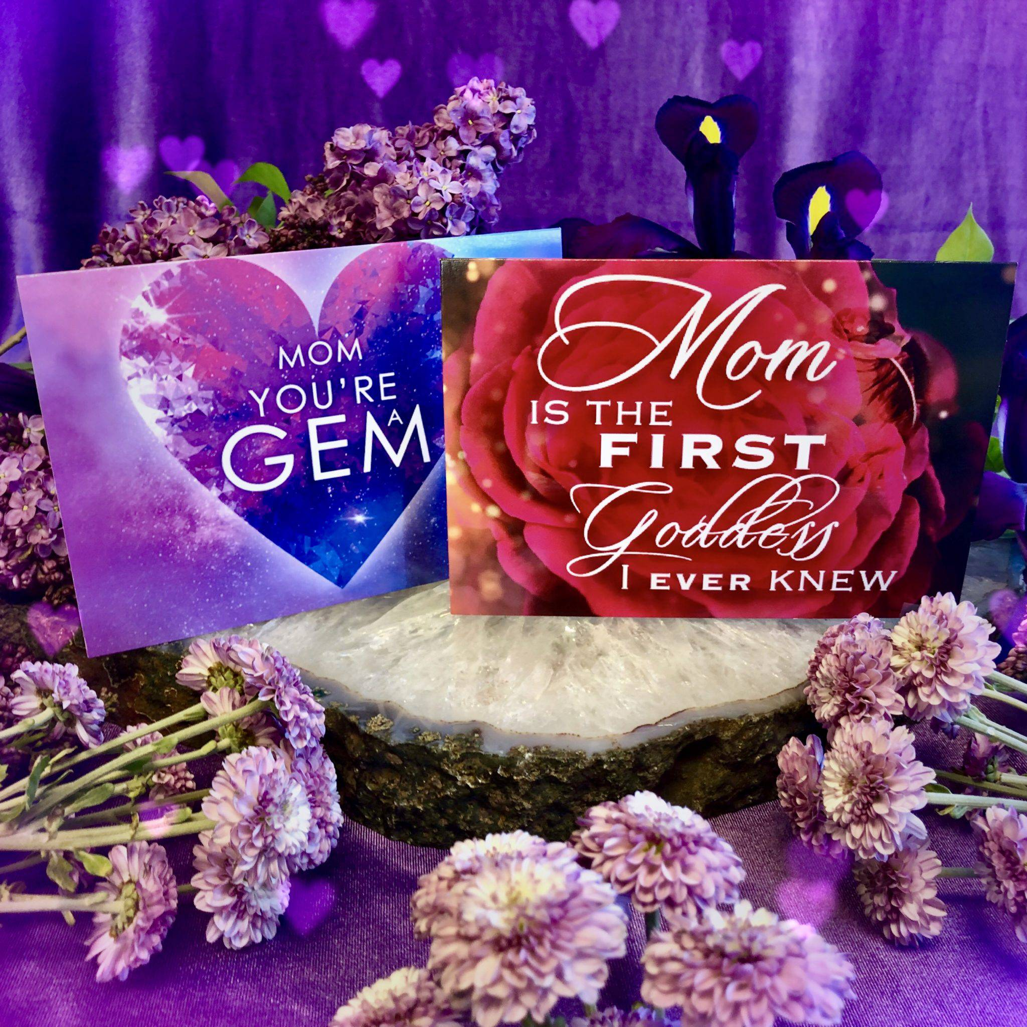 Show me pictures of mothers day cards