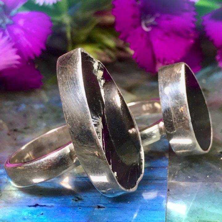 Shungite Ultimate Purification Rings