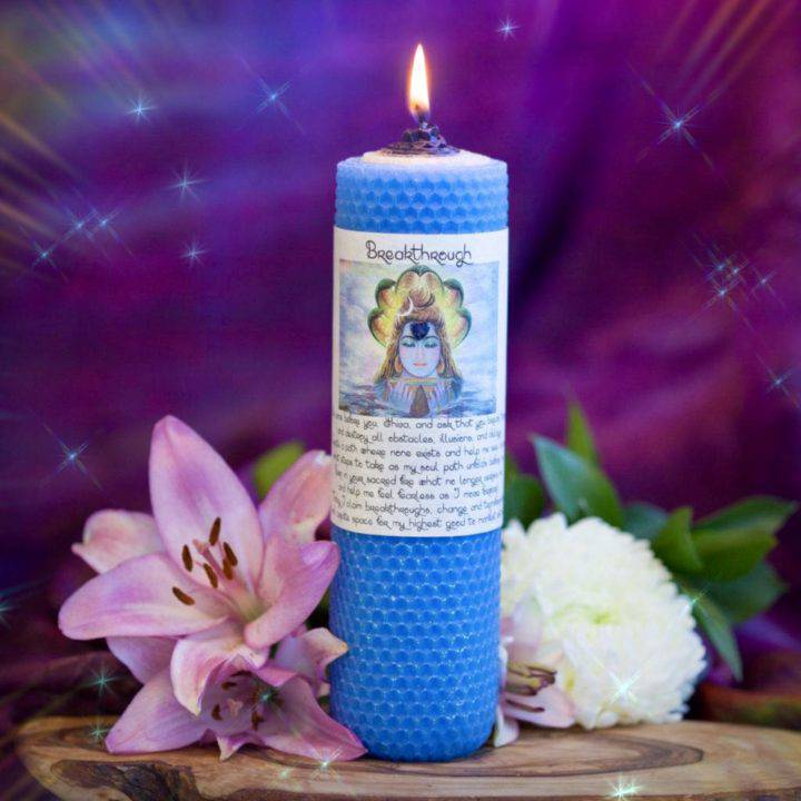 Breakthrough Beeswax Intention Candles