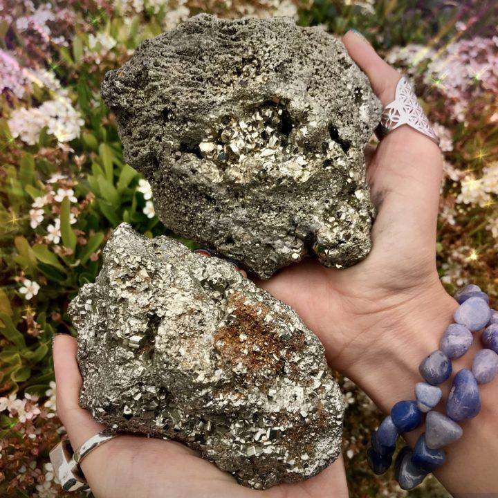 Lucky_Manifestation_Pyrite_Clusters_1of3_5_16