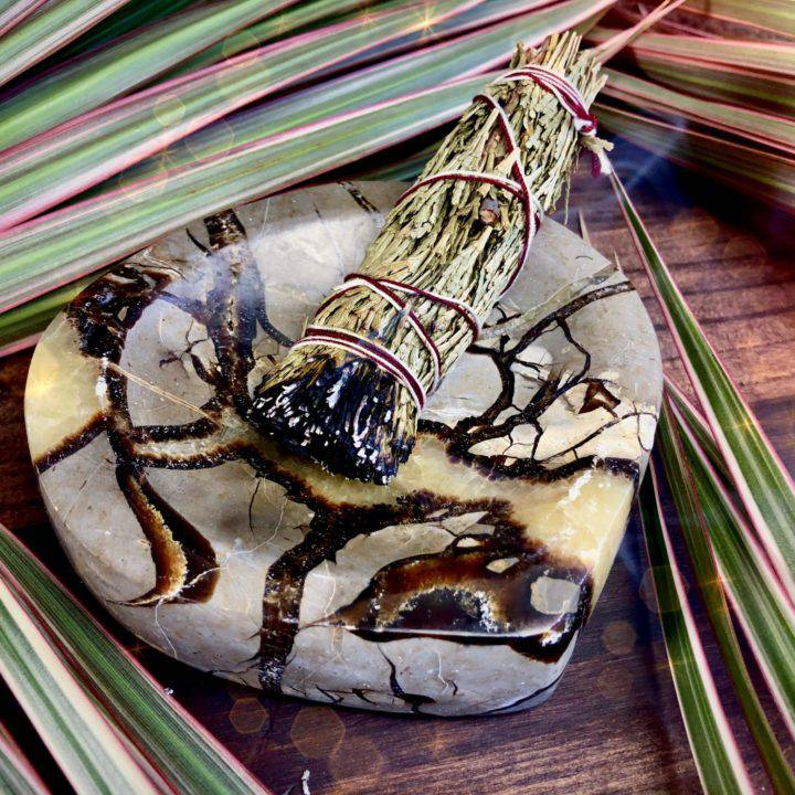 Septarian_Offering_Bowls_with_Cedar_Smudge_1of3_5_24