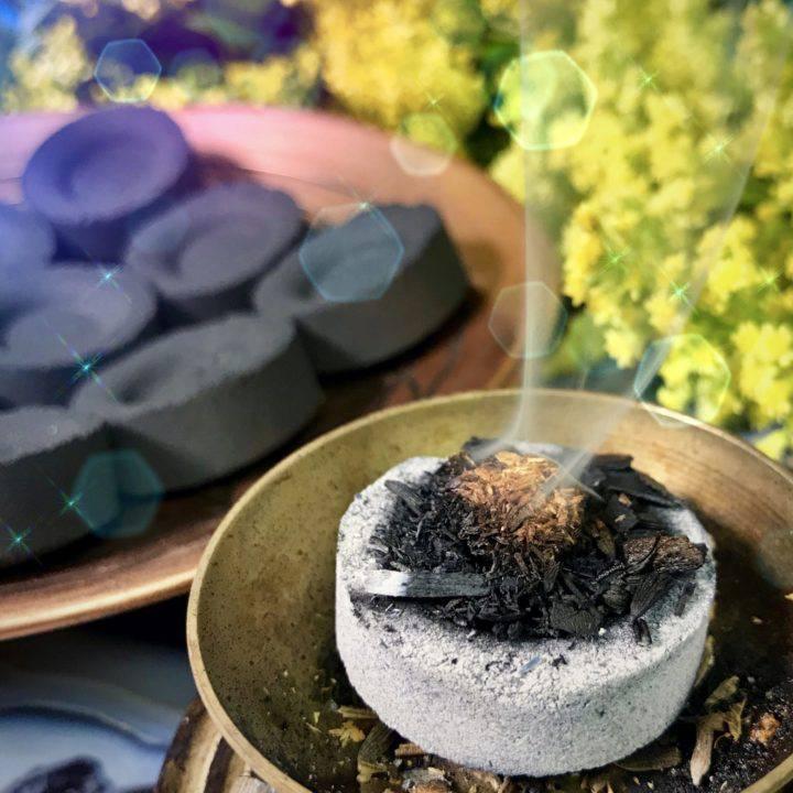 charcoal disks