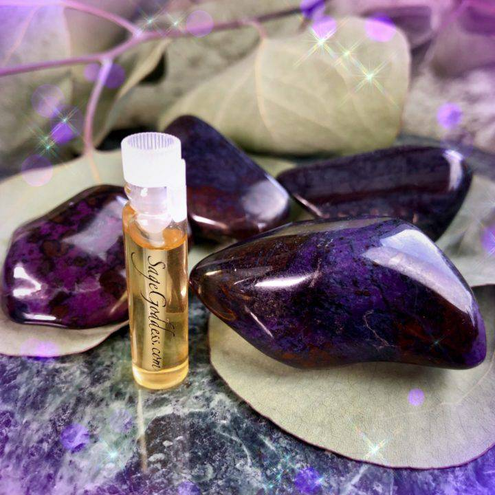 Large_Tumbled_Sugilite_With_Sample_of_Ultimate_Anti_Inflammatory_Perfume_1of4_6_7