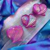 Pink Aura Rose Quartz Angel Wings 2