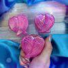 Pink Aura Rose Quartz Angel Wings 4