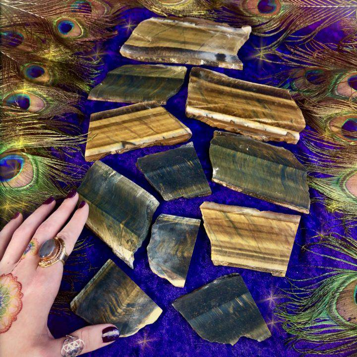 Tiger_Eye_Slices _LOT_E_Wholesale_2of3