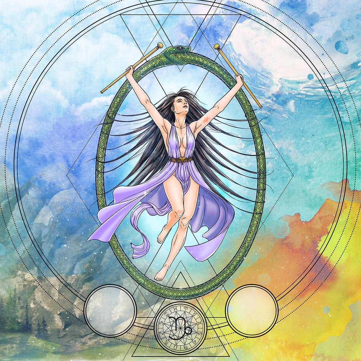 The World XXI Ritual Set: Tools for the Live Full Moon Ritual with Athena