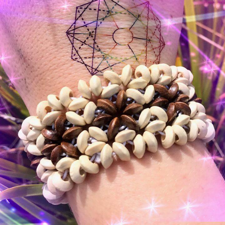 Flower of Life Sacred Geometry Bracelets