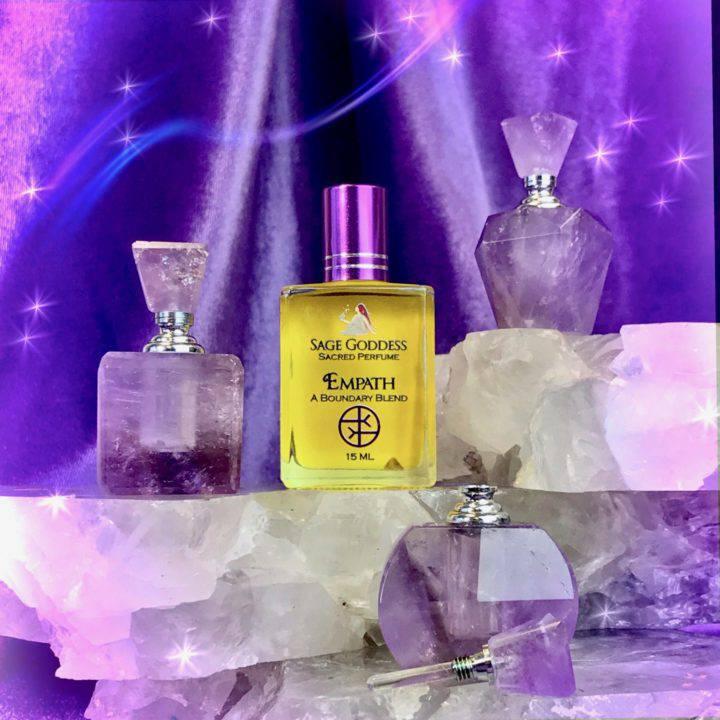 Peaceful Empath Amethyst Perfume Bottles with Free Empath Perfume_8_3_1of3