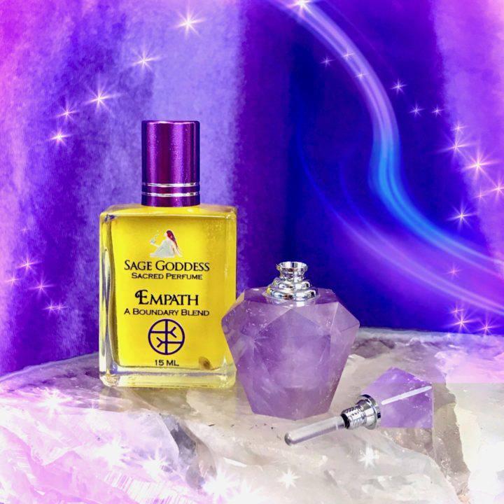 Peaceful Empath Amethyst Perfume Bottles with Free Empath Perfume_8_3_2of3