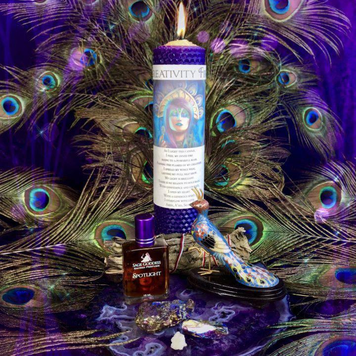 Peacock_New_Moon_Spirit_Animal_Set_for_Ritual_with_Athena_1of8_7_2