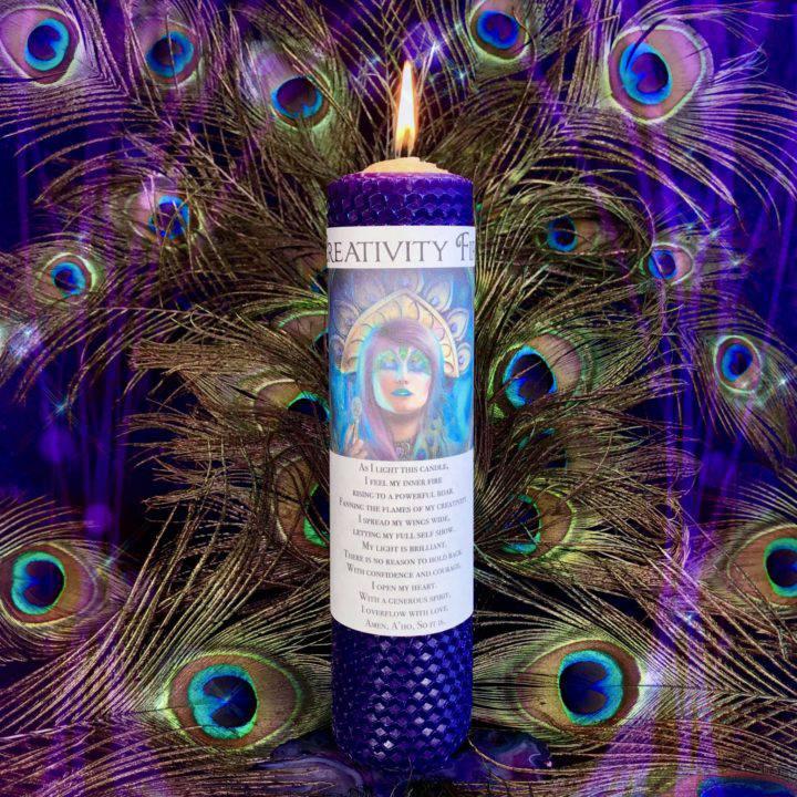 Peacock_New_Moon_Spirit_Animal_Set_for_Ritual_with_Athena_2of8_7_2
