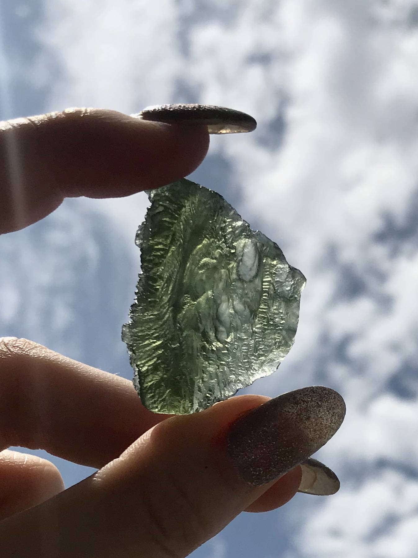 Gemstone Sale: Natural Moldavite