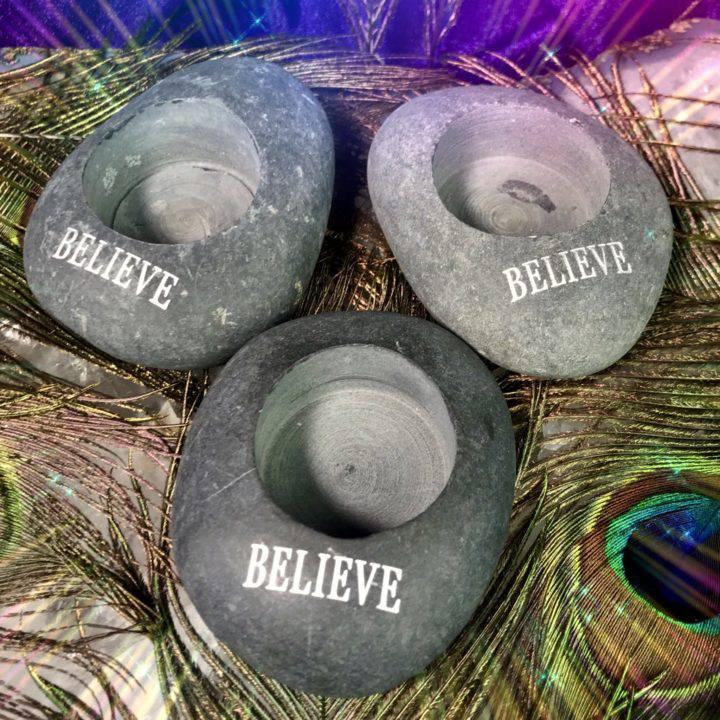 River_Rock_Tealight_Holder_Believe_Wholesale_1of3