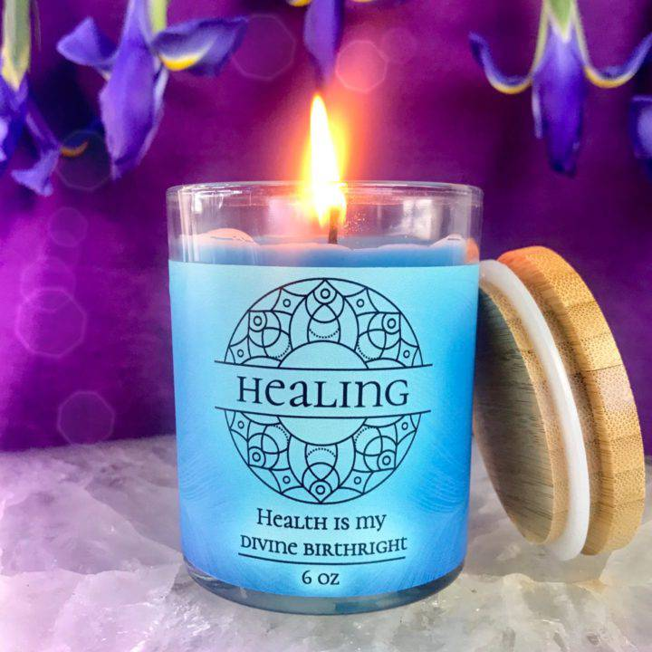 Healing Intention Candles