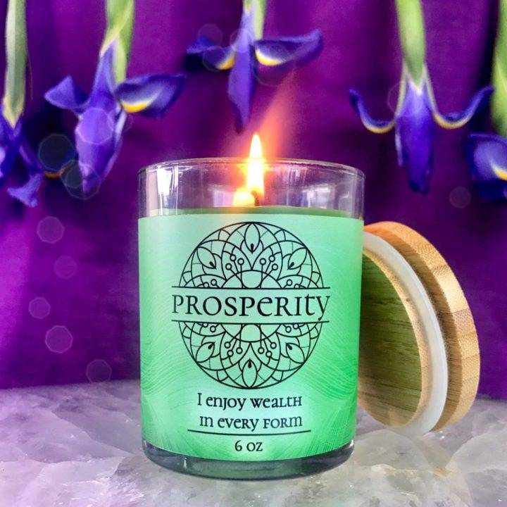Prosperity Intention Candles
