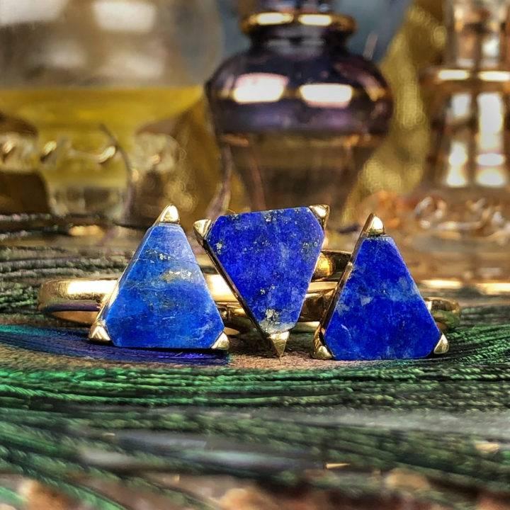 Lapis Lazuli Queens Ring