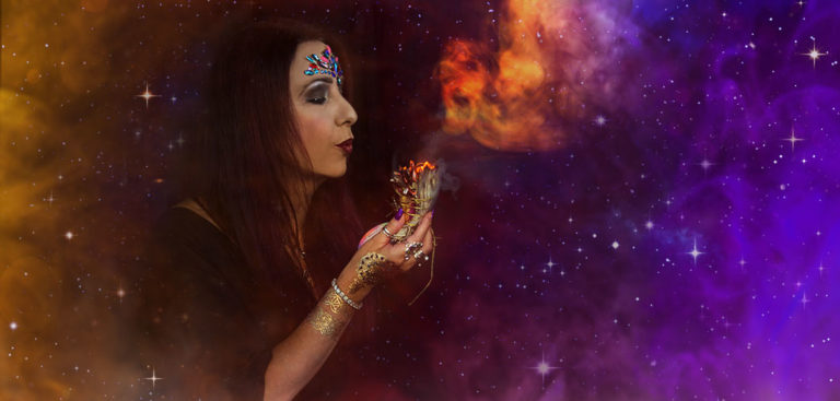 Sage Goddess Smudging Protocol for clearing sacred space