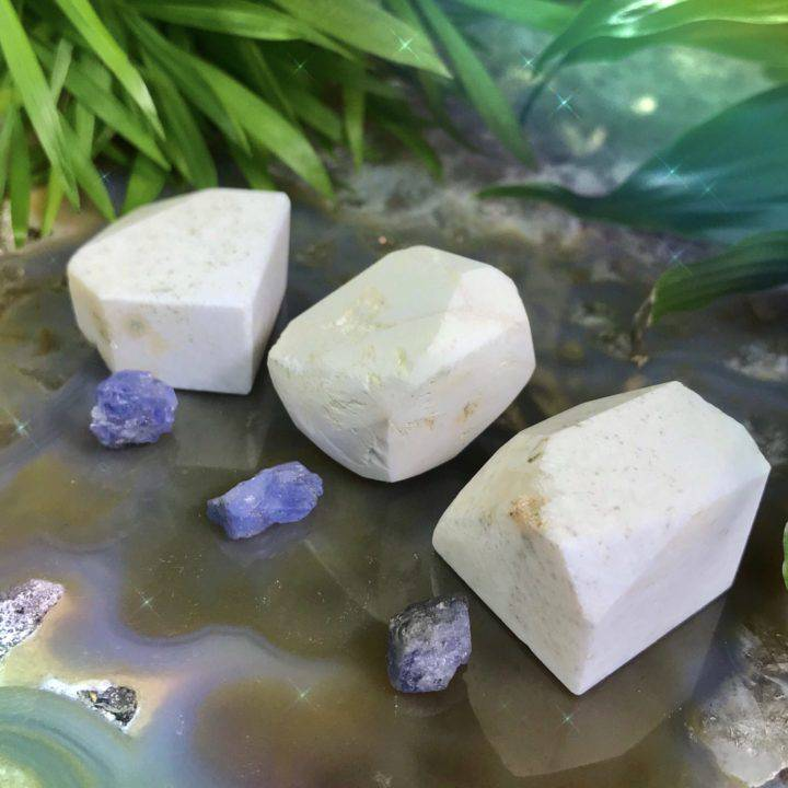 Synergy Scolecite and Tanzanite Duo