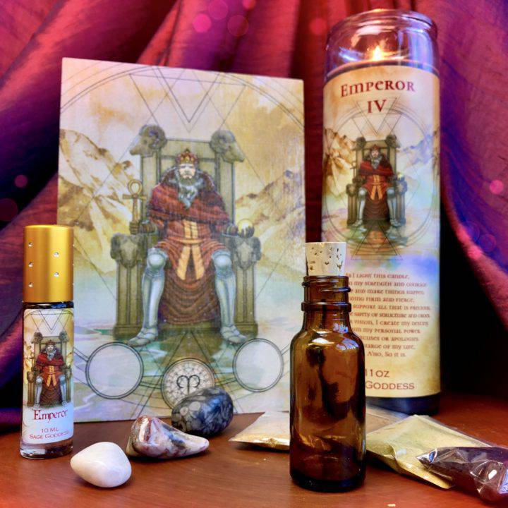 The_Emperor_IV_Set _DD_Tools_for_the_live_full_moon_ritual_with_Athena_1of5_9_13