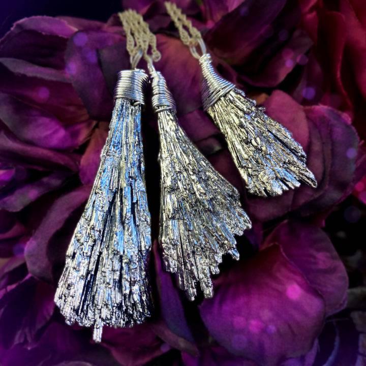 Divine Feminine Silver Kyanite Pendants 1of3 10 31
