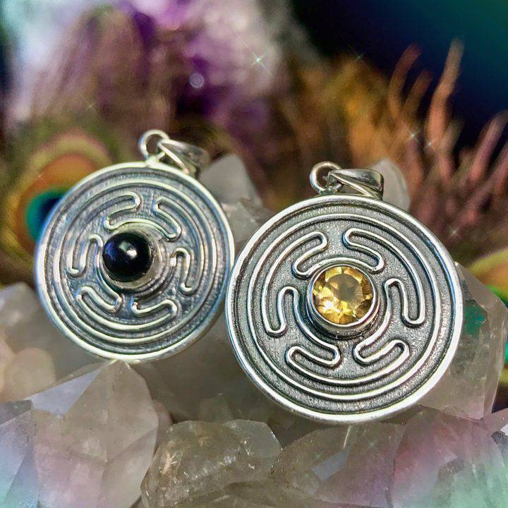 Hecates Labyrinth Pendants