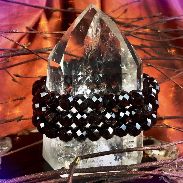 Protective_Healing_Faceted_Black_Obsidian_Bracelets_1of3_10_2