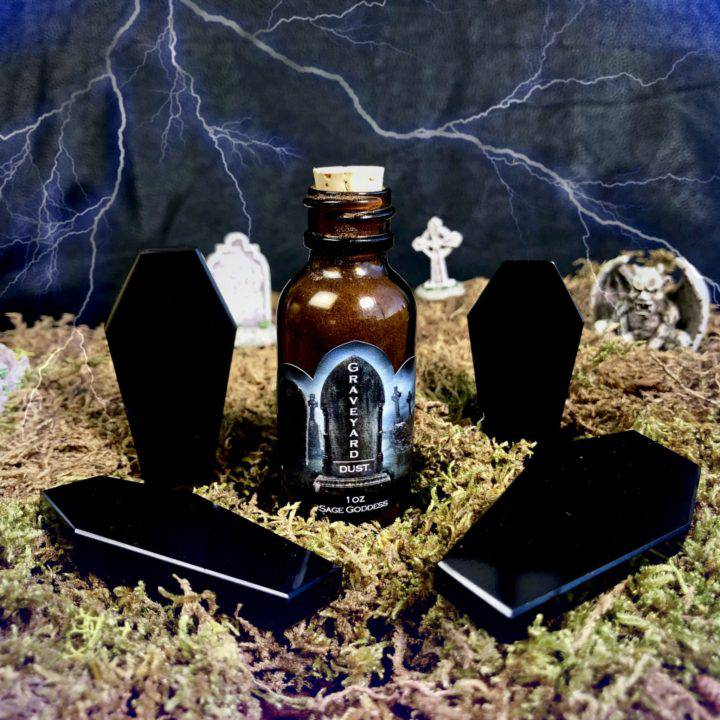 Protective Obsidian Coffins and Graveyard Dust