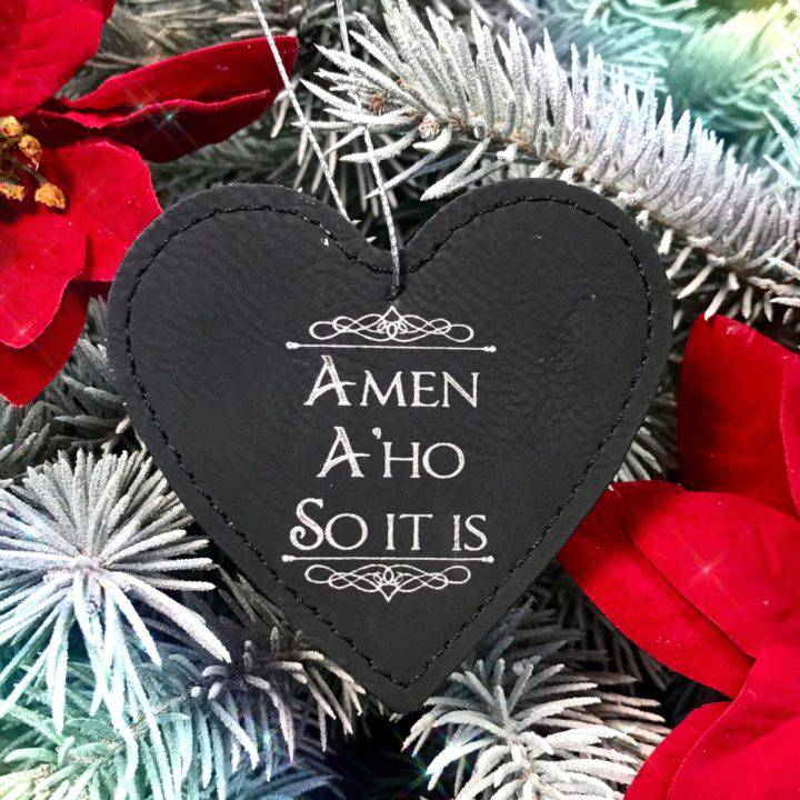 Amen A'ho So It Is Holiday Ornaments_1of3_11_26