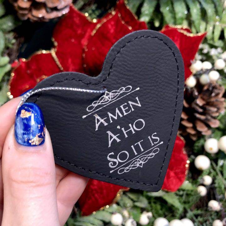 Amen A'ho So It Is Holiday Ornaments_2of3_11_26