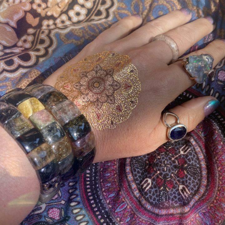 Athena's Favorite Mixed Tourmaline Bracelets