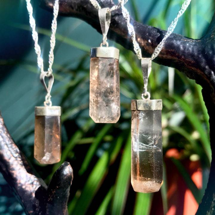 Empowered Protection Imperial Topaz Pendants