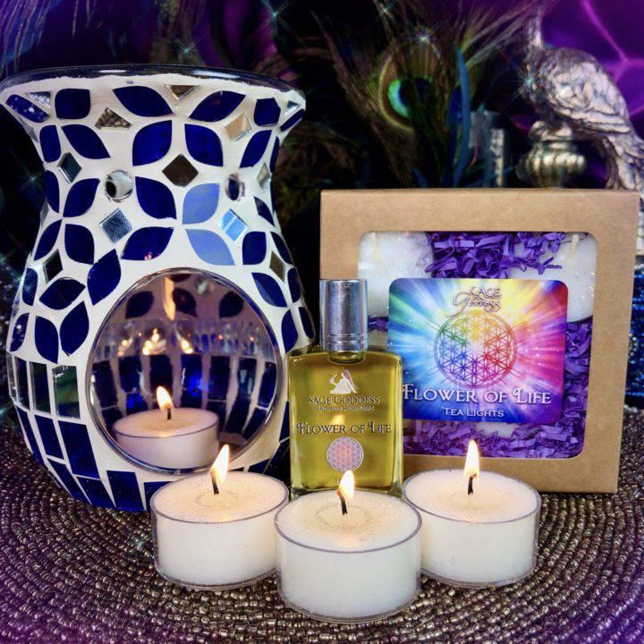Flower of Life Aromatic Gift Set