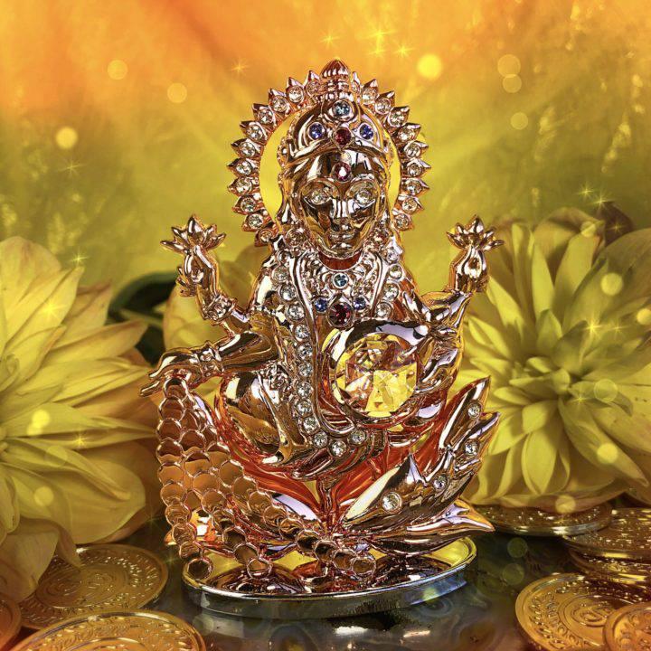 Glittering Abundance Lakshmi Statues