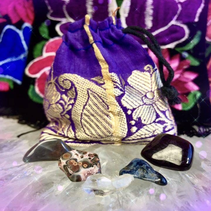 Handmade Shaman Travel Bags