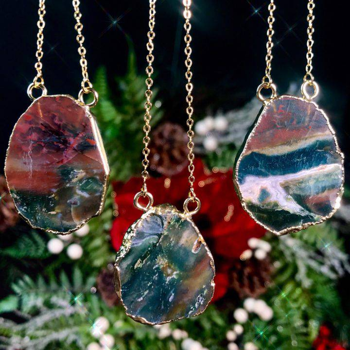 Healing and Recovery Bloodstone Necklaces 1of3_11_26