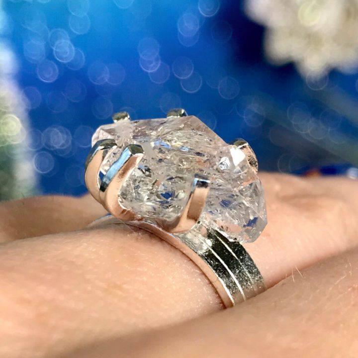Herkimer Diamond Sisterhood Engagement Rings DD_1of3_11_26
