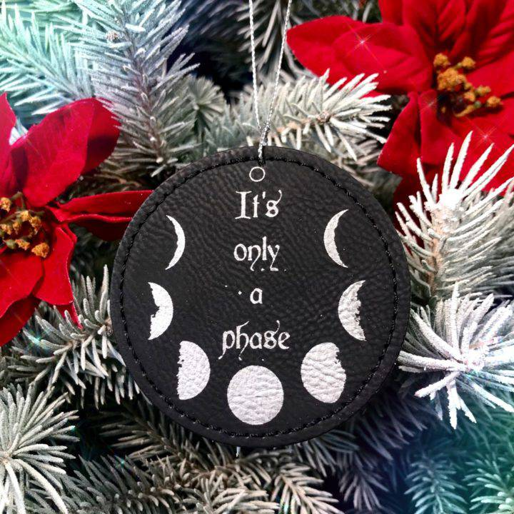 It's Just a Phase Lunar Holiday Ornaments 1of3_11_28