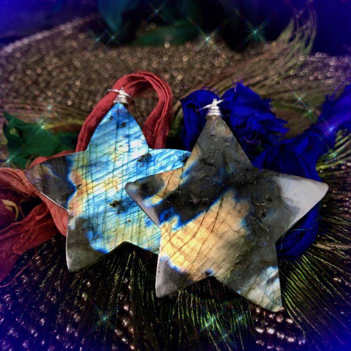 Labradorite Star PendOrnaments