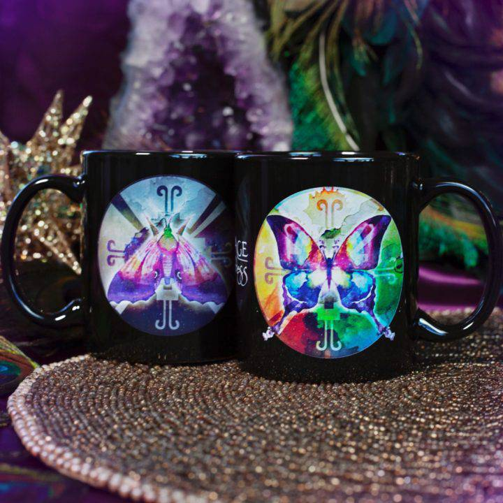 Light and Shadow Mugs