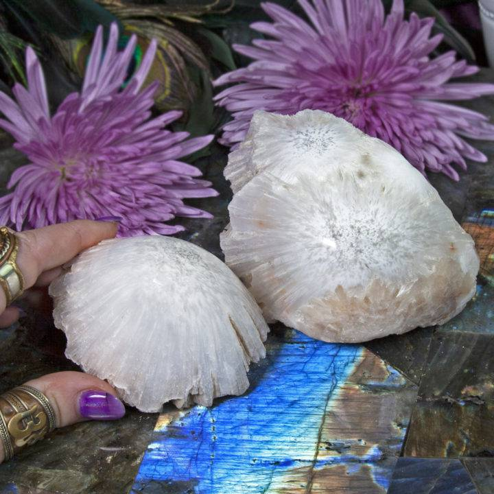 Lightworkers Scolecite Domes