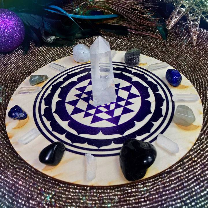 Moon Phases Intention Gridding Set